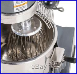 GENERAL 10 Qt. Commercial Kitchen Stainless Stand Mixer Steel Dough Whip GEM110