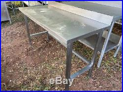 Heavy Duty 57 x 25 Commercial Stainless Steel Work Kitchen Prep Table DINGS