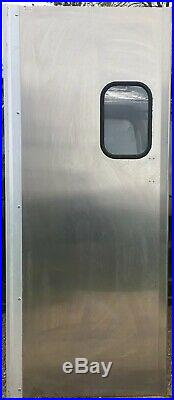 Heavy Duty Stainless Steel Dual Swing Kitchen Door 82 X 35 CHASE Commercial