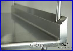 Industrial Stainless Steel 72 Commercial Kitchen Prep Table