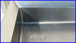 KEVRY 78x30x41 COMMERCIAL KITCHEN HEAVY STEEL PREP TABLE DRAWER TOP BOTTOM SHELF