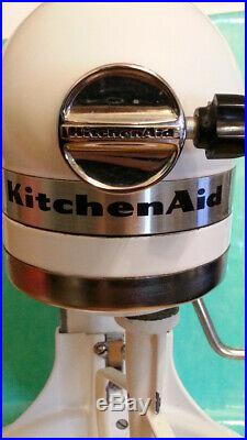 Kitchen Aid K5SSWH Heavy Duty Commercial Stand Mixer 10 Speed 325 Watts