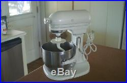KitchenAid Heavy Duty Lift Commercial Stand Mixer K5SSWW 10 Speed Kitchen Aid