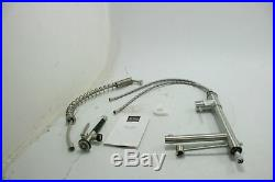 Kraus KPF-1602SS Single Handle Pull Down Kitchen Faucet Commercial Style Steel