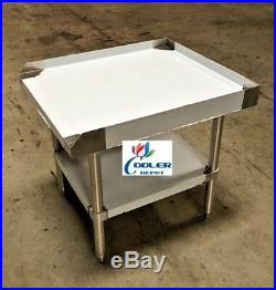 NEW 24 x 28 Stainless Steel Prep Table Commercial Kitchen Equipment Stand NSF