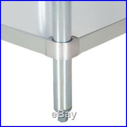 NEW Stainless Steel Commercial Kitchen Work Prep Equipment Table Stand 30 x 48