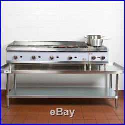 NEW Stainless Steel Commercial Kitchen Work Prep Equipment Table Stand 30 x 72