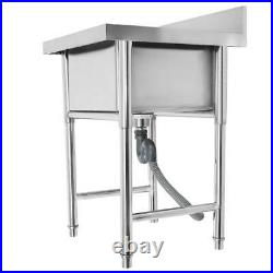 New 31 Stainless Steel Utility Commercial Square Kitchen Sink for Washing Room