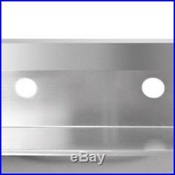 New 39 Stainless Steel 1/3 Compartment Commercial Wide Bar Sink Kitchen Sinks