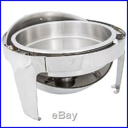 New Choice Stainless Steel Round Chafer Commercial Kitchen Equipment Catering