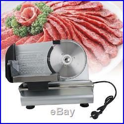 New Electric Meat food Slicer Commercial Steel Cheese Cut Restaurant home Blade