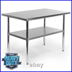 OPEN BOX Stainless Steel Commercial Kitchen Work Food Prep Table 30 x 48
