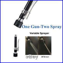 Pull Down Sprayer Spring Commercial Kitchen Faucet Full Stainless Steel TA00C