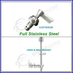 REAL Stainless Steel Commercial Kitchen Deck-mounted Pre Rinse Unit Faucet NSF