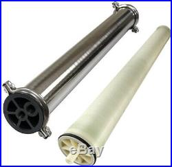 Spectrum 4040 Membrane Element & Stainless Steel Housing Set RO Window Cleaning