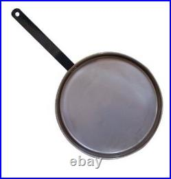Spun Steel Long Handle FryPan 13.5 SkilletCampfire Cooking Commercial Kitchen