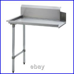 Stainless Steel Commercial Kitchen Clean Dish Table Left Side 30 x 26 G