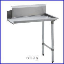 Stainless Steel Commercial Kitchen Clean Dish Table Right Side 30 x 26 G