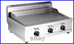 Stainless Steel Commercial Kitchen Countertop Natural Gas Flat Griddle Grill