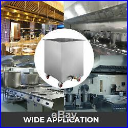 Stainless Steel Commercial Kitchen Hood Grease Filter Soak & Clean Tank