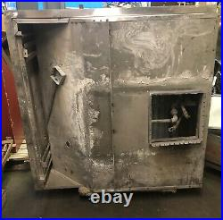 Stainless Steel Restaurant Commercial Kitchen Exhaust Hood Square 53.5x53