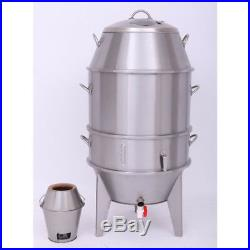 Stainless Steel Roast Duck Oven commercial Equipment Cook Food Charcoal Kitchen
