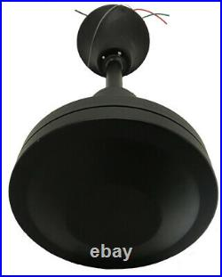 VES 56 Commercial and Industrial Grade Ceiling Fan with control, Matte Black